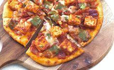 kadai-paneer-pizza