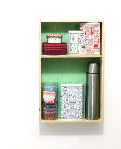 wine box shelf