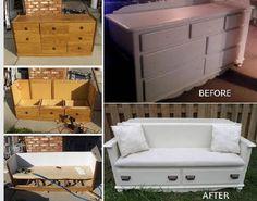 drawers - armchair Cajonera - sillón