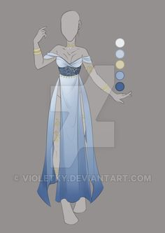 :: MAR Commission 08: Outfit Design :: by VioletKy.deviantart.com on @DeviantArt