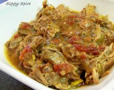 Chile verde (chili verde) crockpot/slow cooker with rice -used chicken, broccoli, carrots, peas and green beans. Used 1 can diced tomatoes with chiles, 1-8 oz can green salsa, 1 large can green chiles (chopped in food processor). Added 4 tbsp flour and 1/2 cup water and a can of chicken broth. Dried onions, dried garlic, 1 tbsp oregano, 1 tbsp cumin, 1 tbsp chicken bullion. Put 1 1/3 cups rice in crockpot and all other ingredients cooked on high 3 hours and stirred and added the 1 can…