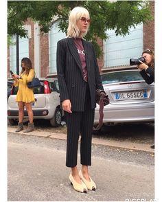 Milano Fashion week 2016. Street style. Linda Tol