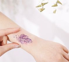 Lighthearted Delicately Designed Tattoos That Are Inked With a Rainbow of Candy Colored Pastels