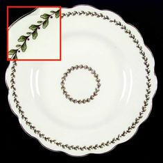 """6/"""" x 1 7//8/"""" Crazed s meas Johnson Brothers REGENCY WHITE Square Cereal Bowl"""