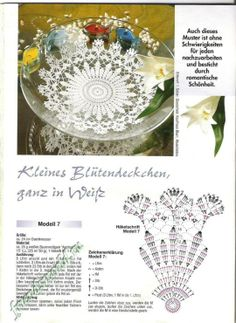 World crochet: Motive 58 - Salvabrani Crochet Doily Diagram, Crochet Doily Patterns, Crochet Motif, Crochet Lace, Crochet Bowl, Thread Crochet, Crochet Scarves, Napkin Rose, Crochet Dollies