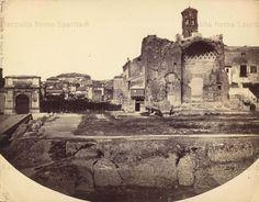 Foro Romano: tempio di Venere e Roma e Arco di Tito Anno: 1860 circa