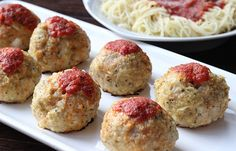Recipe: Skinny Chicken Parm Meatballs