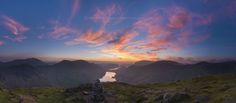 Fleetwith Pike sunset, Lake District. by John Finney on 500px