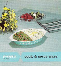 Pyrex Brochure Cover 1950s