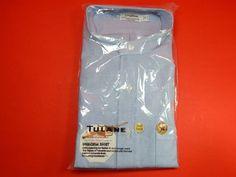 New Tulane Oxford Uniform Shirt Light Blue Sz Adult XL Short Sleeve ( USA Made)  #Tulane