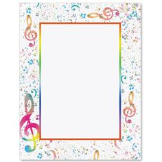Party Tunes Letter Paper | Idea Art