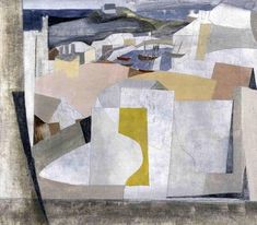 """15 July, 1949 (St. Ives Harbor),"" by Ben Nicholson"
