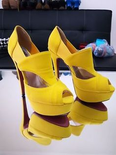 Yellow Marco Gianni Ladies Shoes | Women's Shoes | Gumtree Australia Canterbury Area - Kingsgrove | 1133035589