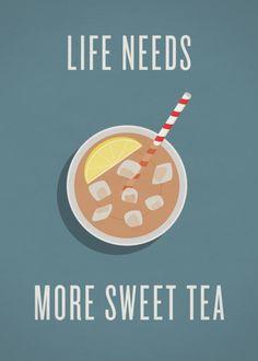 I like a little tea with my sugar :)