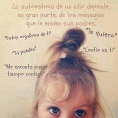 La autoestima de un niño*...
