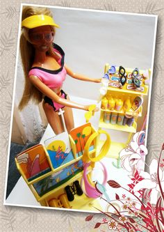 Barbie California Dream Hot Spot Surf and Shop 1987