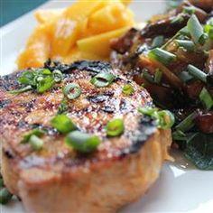 Grilled Asian Ginger Pork Chops #onthegrill