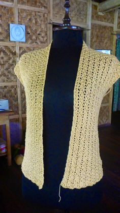 FATIMA CROCHET: A Simple Crochet Cardigan