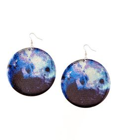 Love this Blue Planetary Drop Earrings on #zulily, $7 !!   #zulilyfinds