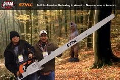 Russo Power Equipment STIHL Chainsaw Booth at the Mid America Horticultural Trade show at Navy Pier 2013.