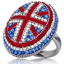 Union Jack ring from Butler & Wilson