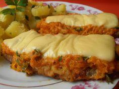 Csilla konyhája, mert enni jó!: Natúr szelet sárgarépa takaróval