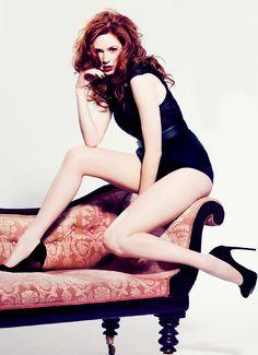 Karen Gillan in heels