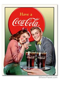 image of Coca-Cola ® Soda Fountain Sign
