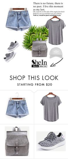 """""""SheIn 5/V"""" by hedija-okanovic ❤ liked on Polyvore featuring WithChic, Topshop and shein"""