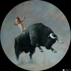 Zhao Limin - Dances With Cattle No.2