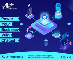 Chatbot an AI-powered software program that encourages us to increase brand awareness and provide value to our customers. A-Star Innovation introduces Chatbot service that helps in elevating your brand by interacting with people regarding the queries, discounts and other promotional offers.  #AStarInnovation #DigitalMarketingLucknow #FacebookMessenger #Chatbot #ArtificialIntelligence #Program #facilitating #chatbots #Promotion #Services Out Of Home Advertising, Facebook Messenger, Digital Marketing, Innovation, Promotion, Software, Encouragement, Branding, Star
