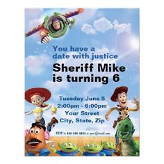 =>>Cheap          Toy Story Birthday Invitation           Toy Story Birthday Invitation lowest price for you. In addition you can compare price with another store and read helpful reviews. BuyThis Deals          Toy Story Birthday Invitation Review from Associated Store with this Deal...Cleck Hot Deals >>> http://www.zazzle.com/toy_story_birthday_invitation-161898630018671072?rf=238627982471231924&zbar=1&tc=terrest
