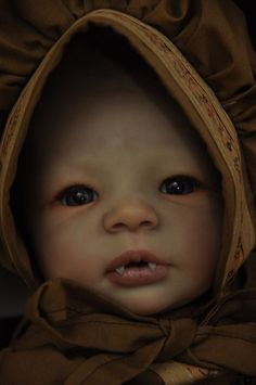 Vampire Baby ^_^ by talented reborn artist Lacey Michelle
