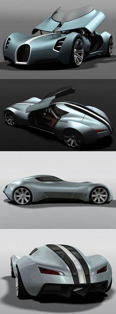 ''#2017 #Bugatti Aerolithe '' #2017 Auto concept, Nouvelles Autos et prototypes pour 2017