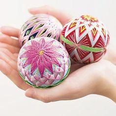 temari El arte de hacer temari u ovillos a la manera de pelotas.Arte popular chino.