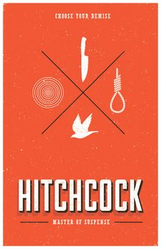 Hitchcock: Choose Your Own Demise  by Adam Limbert    #hitchcock