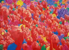 "Fang Lijun | Fang Lijun: Documenta"" reviews his creations in Singapore"