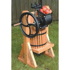 Single Tub Fruit Press