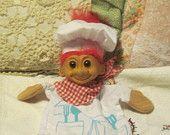 Puppet, Russ Troll Bakers Puppet  Darling, Baker Puppet, Troll Puppet, Puppet Show, Toy puppet, Troll Puppet, Vintage Toys, :)s*