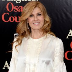 Stop What You're Doing and Discuss Connie Britton's Hair #beautiful #longhair #redhead
