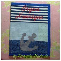 Capa para caderneta de vacinação by Atelier Sonhos e Formosuras