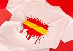 """Camiseta de """"La Roja"""" con pintura para tela La Pajarita - La Pajarita"""