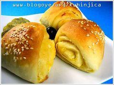 Kisela testa-pogace,projare,peciva,gibanice.. Hamburger, Bread, Food, Recipes, Meal, Brot, Eten, Hamburgers, Breads