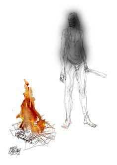 """""""Los hijos de los días"""" - Galeano ilustrado por Casciani 31/7 - acá podés leer el texto:http://andrescasciani.blogspot.com.ar/2016/07/los-hijos-de-los-dias-galeano-ilustrado_31.html"""