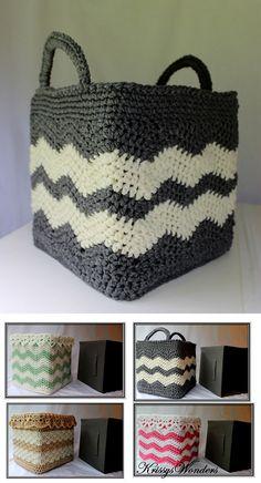 Cube Cozy Basket Crochet Free Pattern Knitting PatternsKnitting For KidsCrochet ProjectsCrochet Amigurumi Crochet Storage, Crochet Box, Crochet Basket Pattern, Crochet Quilt, Crochet Purses, Crochet Gifts, Free Crochet, Crochet Patterns, Crochet Baskets