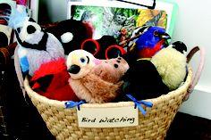 A basket for birdwatchers!
