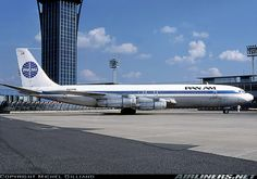 Paris Orly, 1978 - Boeing 707-321B aircraft picture