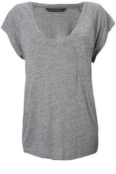 fcuk /grey tee *simple is best*