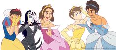 The princess grumps are looking fabulous today
