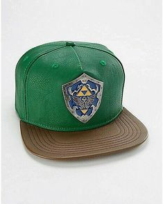 297ce53dc48 You ll represent your favorite character with this awesome Zelda hat!  Adjustable snapback closure for the perfect fit all day long.